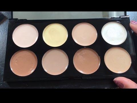 Makeup Revolution Ultra Cream contour review! - YouTube