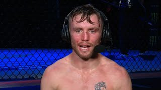Fight Island: Tim Elliott Post-fight Interview