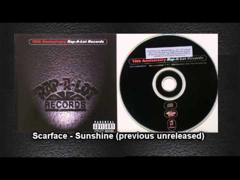 Scarface - Sunshine (previous unreleased) / 10th Anniversary-Rap-A-Lot Records