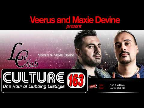 Le Club Culture Radioshow Episode 163 (Veerus and Maxie Devine)