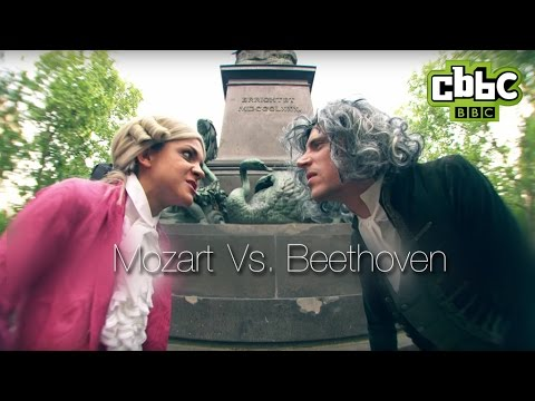 Mozart vs Beethoven rap battle | All Over The Place