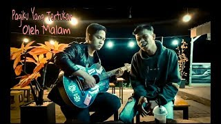 THREESIXTY - PAGIKU YANG TERTUKAR OLEH MALAM ( lyric video ) Cover Lanstudio Music