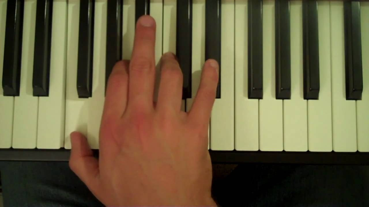 How to play an f7 chord on the piano youtube hexwebz Gallery