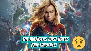 The Avengers Cast Doesn't Like Brie Larson
