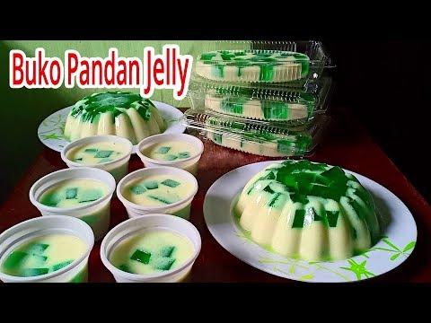 Buko Pandan Jelly | Buko Pandan Gulaman