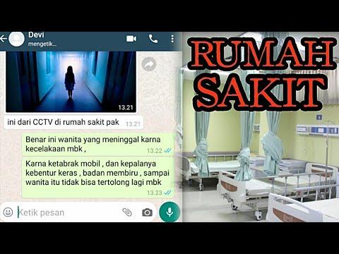Chat Story Horror - Rumah Sakit