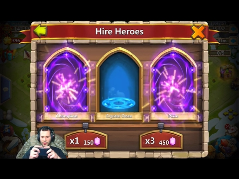 100,000 Gems For Michael 100 Fireworks + Egg Smashes Castle Clash