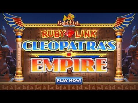 CLEOPATRA'S EMPIRE   Gold Fish Casino Slots