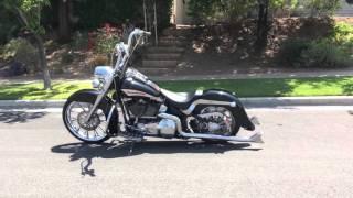 """Harley-Davidson Softail Deluxe FLSTN w/ 23"""""""
