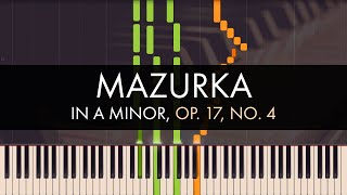 Frédéric Chopin - Mazurka in A Minor, Op. 17, No. 4
