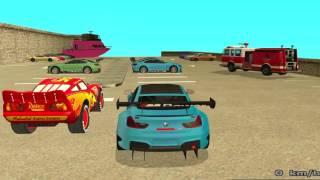 Şimşek McQueen ve Örümcek Adam Yeni Arabalar İle Tanışıyor Çizgi Film Tadında   Türkçe Dublaj
