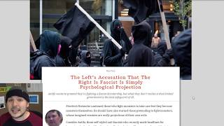 Antifa Is Basically Fascist, Well Aside From The Nationalism