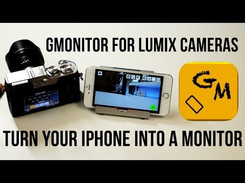 USE YOUR IPHONE AS AN EXTERNAL MONITOR | GMONITOR APP FOR LUMIX CAMERAS [4K]