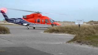EDXH HeliService D-HNHH Windfarm Takeoff