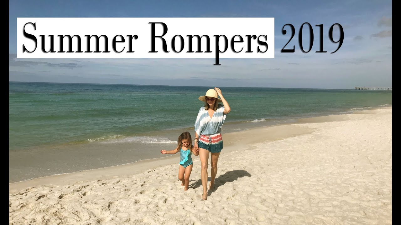 Summer rompers II Vacation Outfits 2019 II Beach Clothes for Women II  Beach Outfit Ideas 2019 2