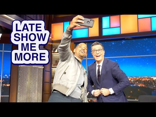 LATE SHOW ME MORE: We're Both Gonna Bungee Jump!