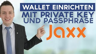 JAXX Wallet Deutsch | JAXX Wallet Erfahrungen | Private Key |  Ethereum Wallet | BitCoin Wallet