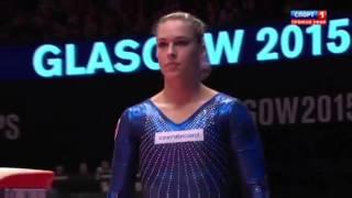Финал ЧМ-2015 Glasgow. Опорный прыжок. Женщины.