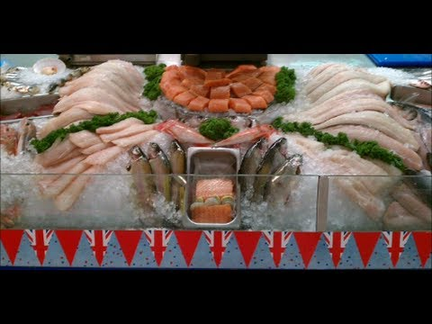Fishmongers Counter Display.no. 2. Thescotteaproject.