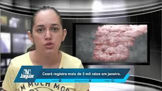 Ceará registra mais de 3 mil raios em janeiro