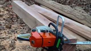 Homesteading: Milling Lumber With The Timberjig Chainsaw Mill