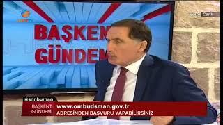 KAMU BAŞDENETÇİSİ ŞEREF MALKOÇ, KON TV' NİN CANLI YAYIN KONUĞU OLDU