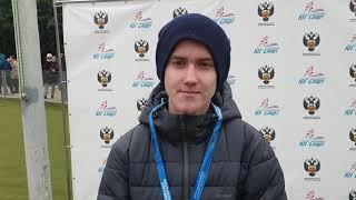 Максим Пьянзин бронзовый призёр Первенства России-2019 U18 в спортивной ходьбе на 10000 м