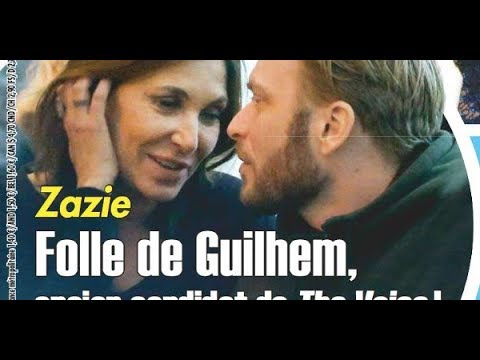 Zazie en couple avec Guilhem Valayé, ex candidat de The Voice
