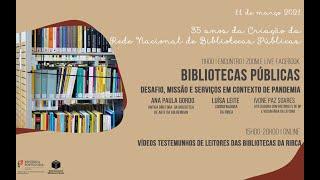 Dia da Rede Nacional de Bibliotecas Públicas