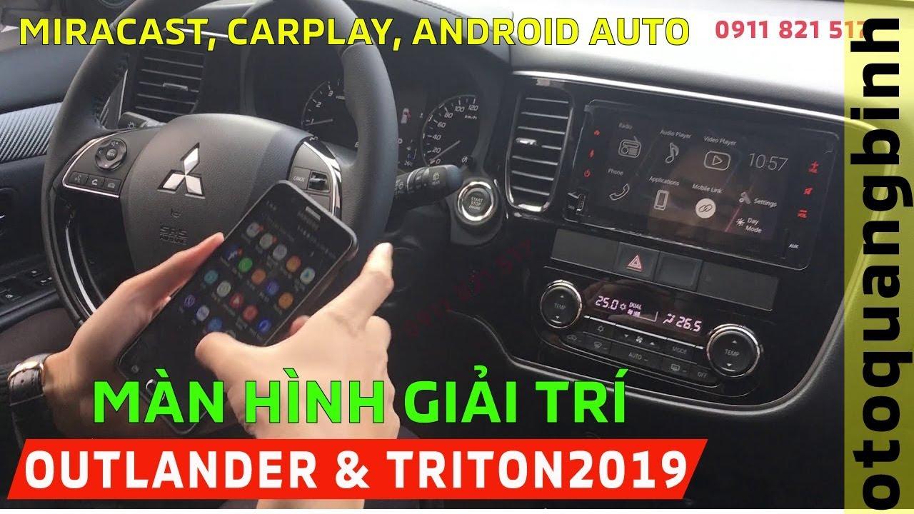 Tính năng mới trên màn hình Clerion - Carplay, Android Auto, Miracast | Ô tô Quảng Bình