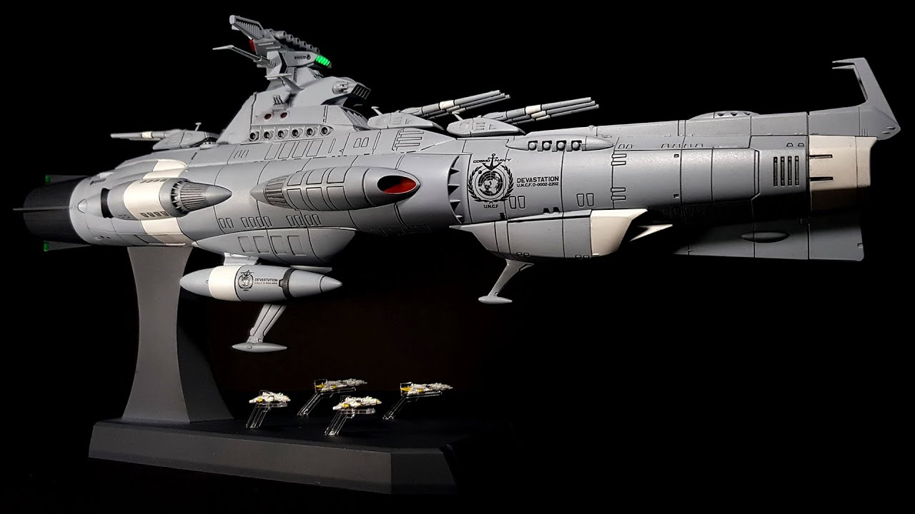 Building Bandai's Dreadnought (Space Battleship Yamato ...