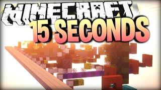 Einfach ZU SCHNELL! - Minecraft 15 SECONDS PARKOUR