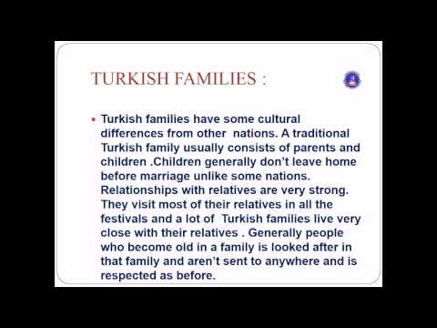 Family Structure in Turkey