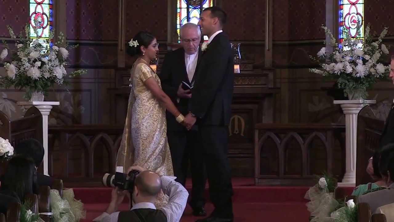 Deepa Nishant Church Wedding