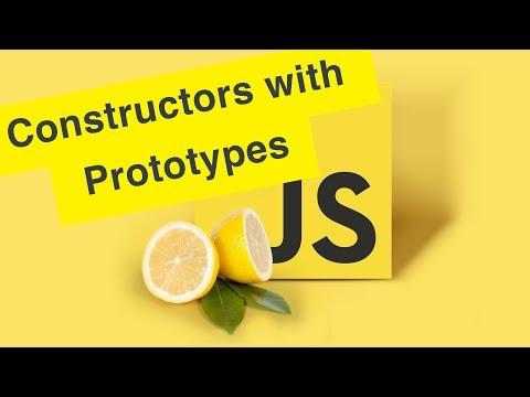 Javascript Tutorial   Prototype Constructors   Ep25