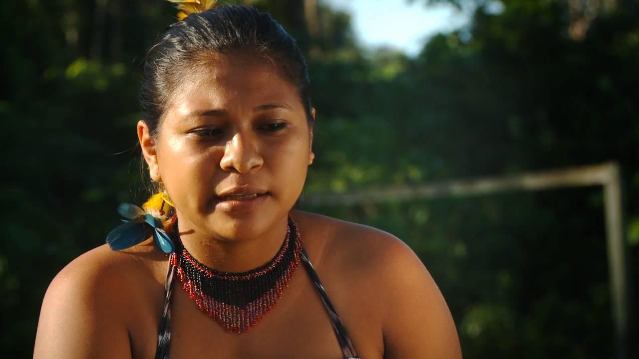 O futebol das mulheres Munduruku