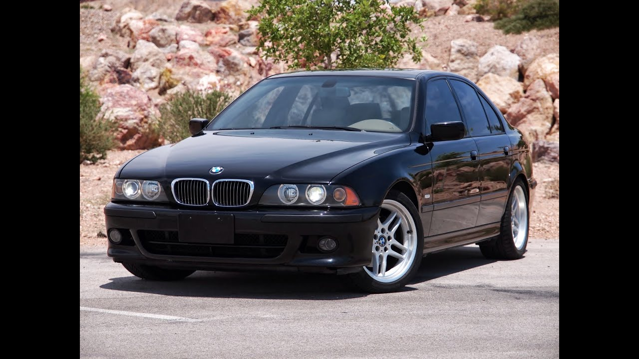 2003 bmw 540i sports package