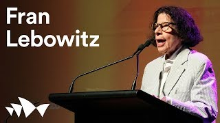 Who's afraid of Fran Lebowitz? | all about women 2018