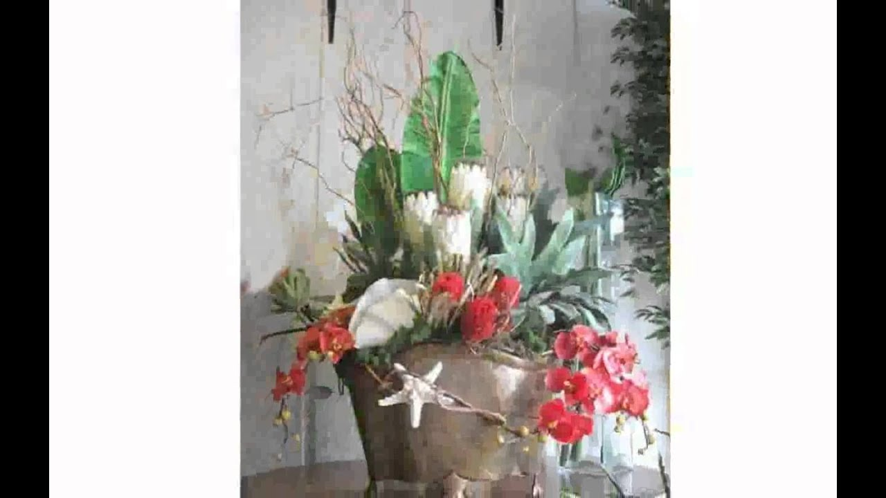 Artificial flower arrangement ideas youtube - Silk flower arrangement ideas ...