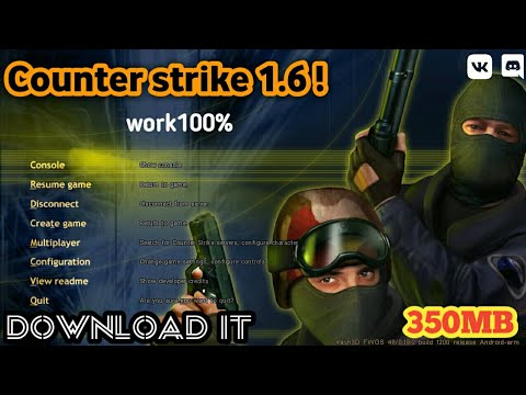 [350MB] Counter Strike 1.6 For Android  | How To Download Counter Strike 1.6 In Android 350 Mb