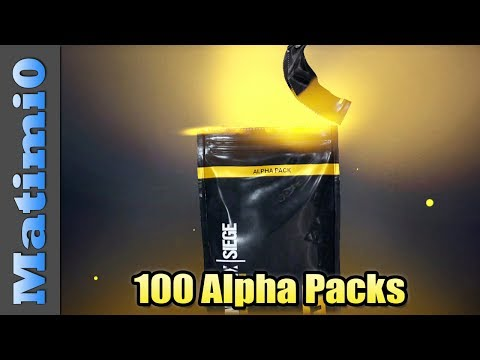 Opening 100 Alpha Packs - Rainbow Six Siege