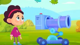 Четверо в кубе - развивающий мультфильм для детей - все серии сразу - сборник серий 16-20