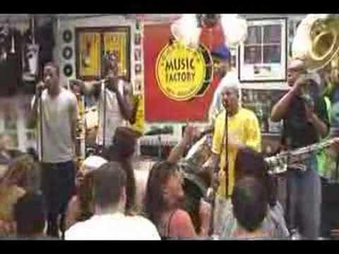 REBIRTH BRASS BAND @ Louisiana Music Factory JazzFest 2007