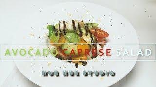 AVOCADO CAPRESE SALAD 아보카도 카프레제 샐러드