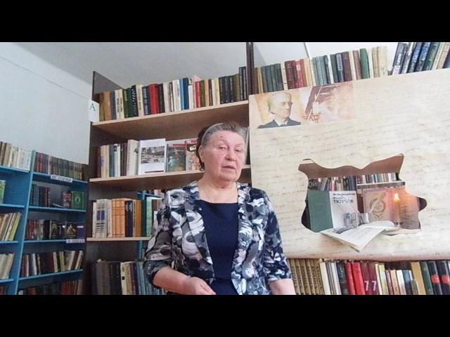 Изображение предпросмотра прочтения – ЕвгенияВолосач читает произведение «Она сидела наполу…» Ф.И.Тютчева