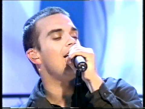 Robbie Williams - No Regrets - Top Of The Pops - Friday 20th November 1998
