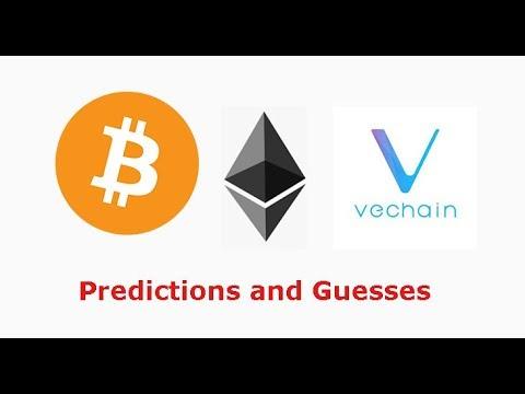 Bitcoin halving predictions? Ethereum 2.0 predictions? VET summit predictions? Livestream recap