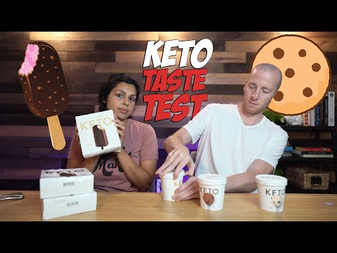 trying-new-keto-foods-|-ice-cream-and-zero-carb-bread