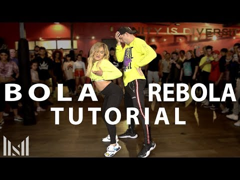 BOLA REBOLA - J Balvin, Anitta, Tropkillaz Ft MC Zaac Dance Tutorial