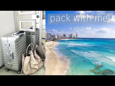 What I'm Packing For Cancun!   Carry-on Checklist + Packing Tips